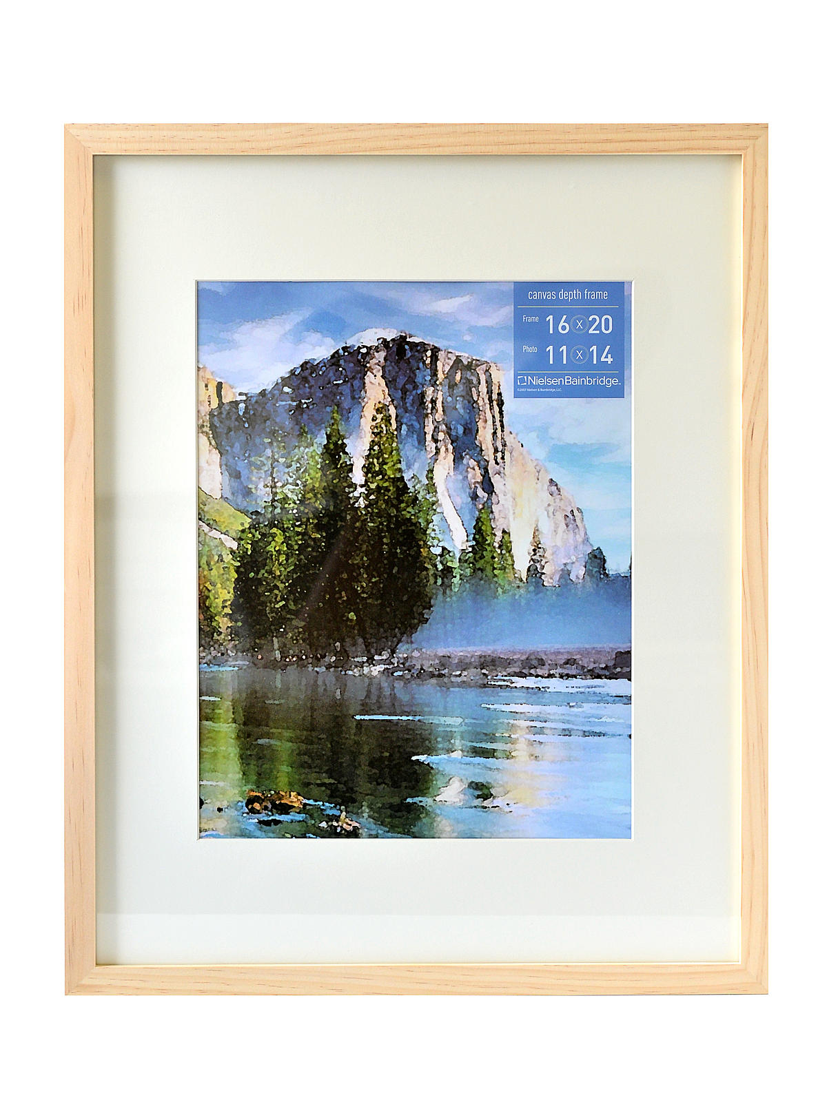 Nielsen bainbridge gallery wood frames for canvas misterart gallery wood frames for canvas 16 in x 20 in natural 11 in jeuxipadfo Images