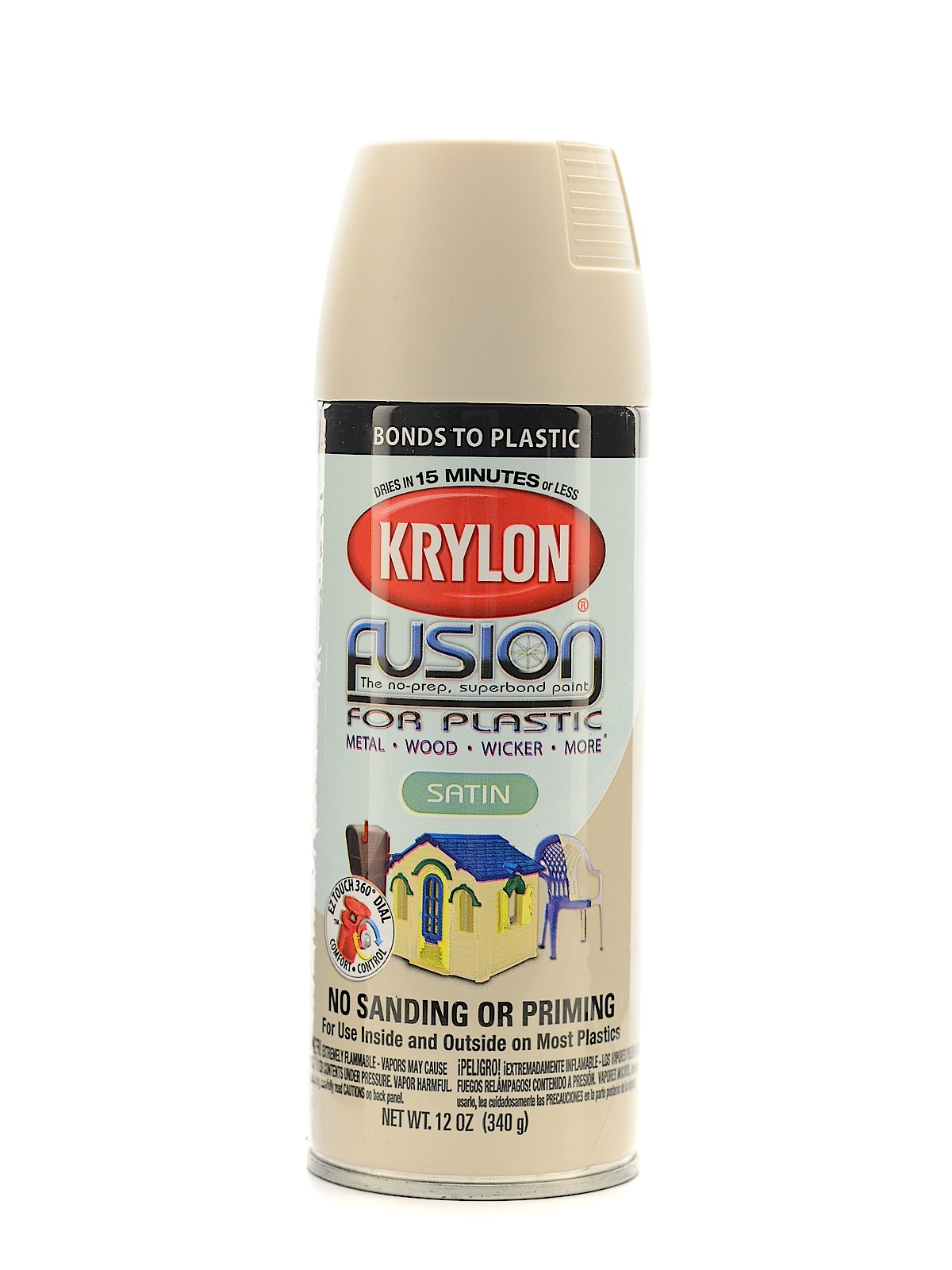 Krylon fusion spray paint for plastic misterart fusion spray paint for plastic almond satin geenschuldenfo Images