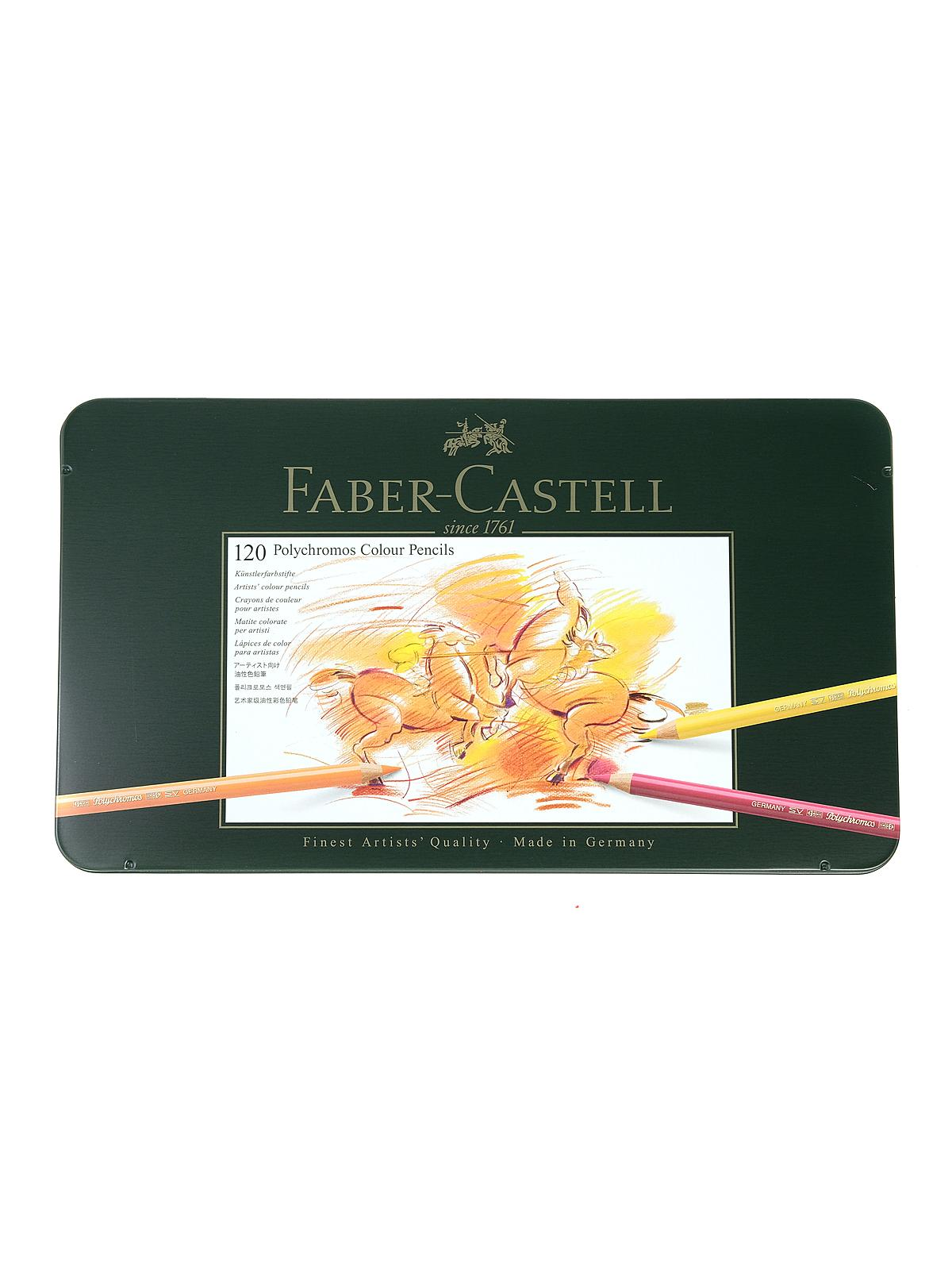 Faber-Castell Polychromos Colored Pencil Sets | MisterArt.com