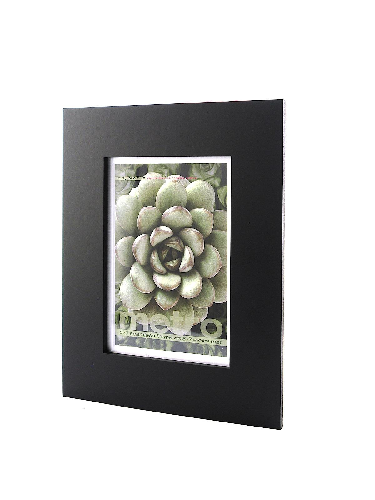 metro seamless panel frames black 5 in x 7 in 5 in x - Metro Frames