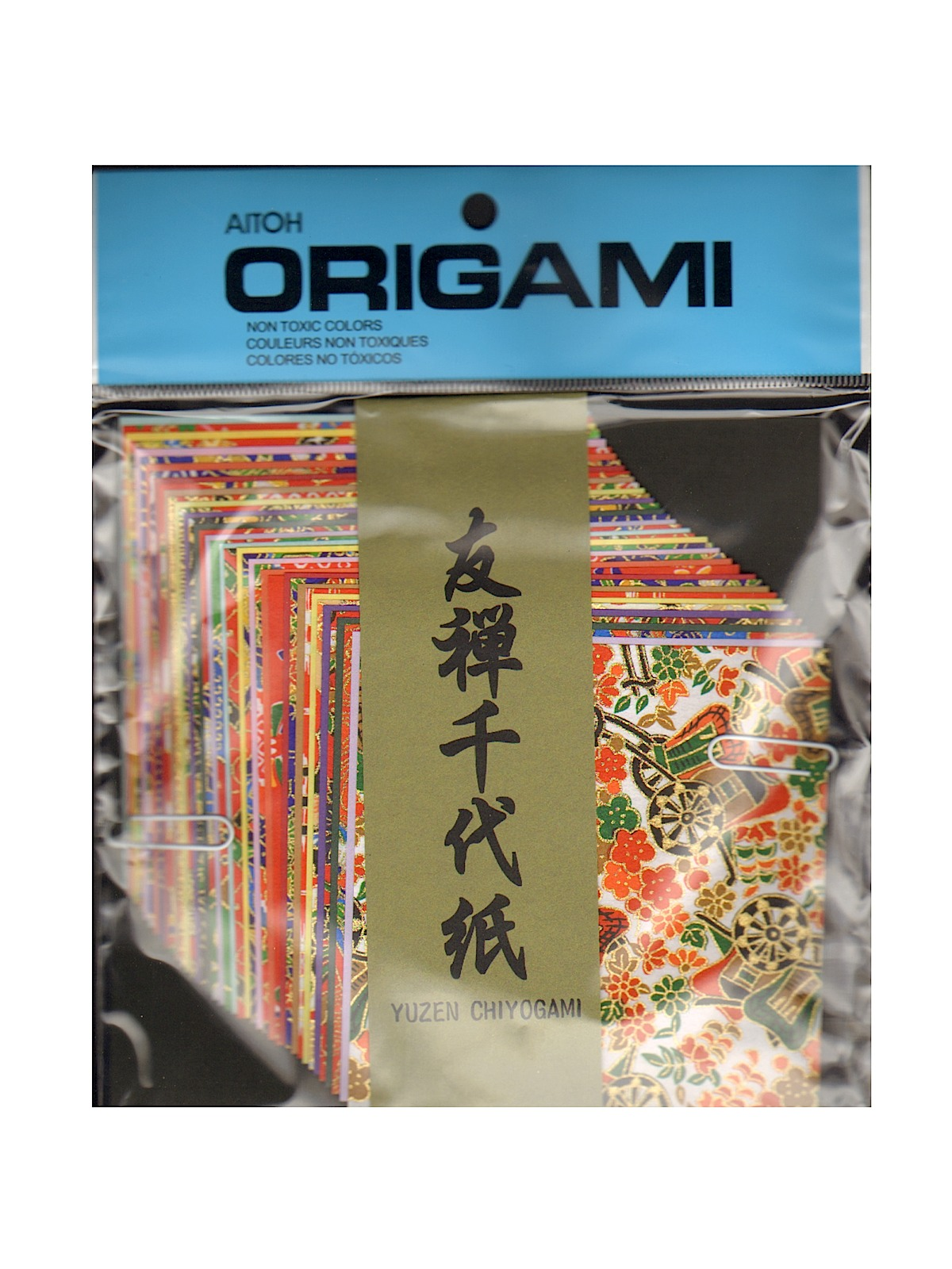 Origami Paper 4 1 2 In. X 4 1 2 In. Yusen Chiyogami Washi 40 Sheets