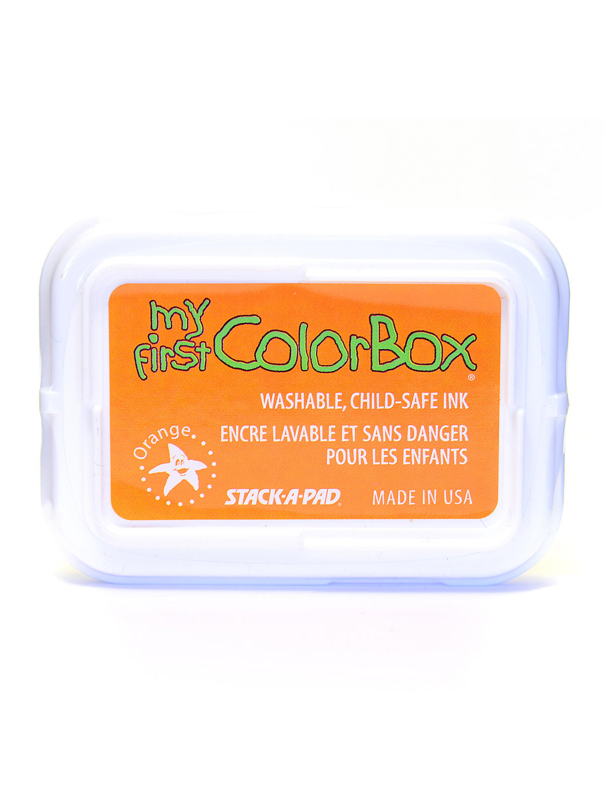My First Colorbox Stamp Pads Orange