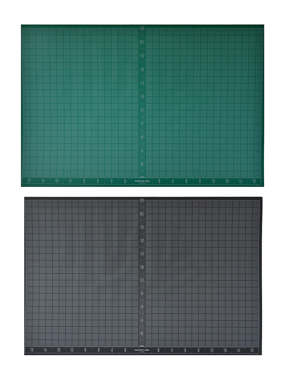 Pacific Arc Multipurpose Cutting Mats green//black 8 1//2 in x 12 in.
