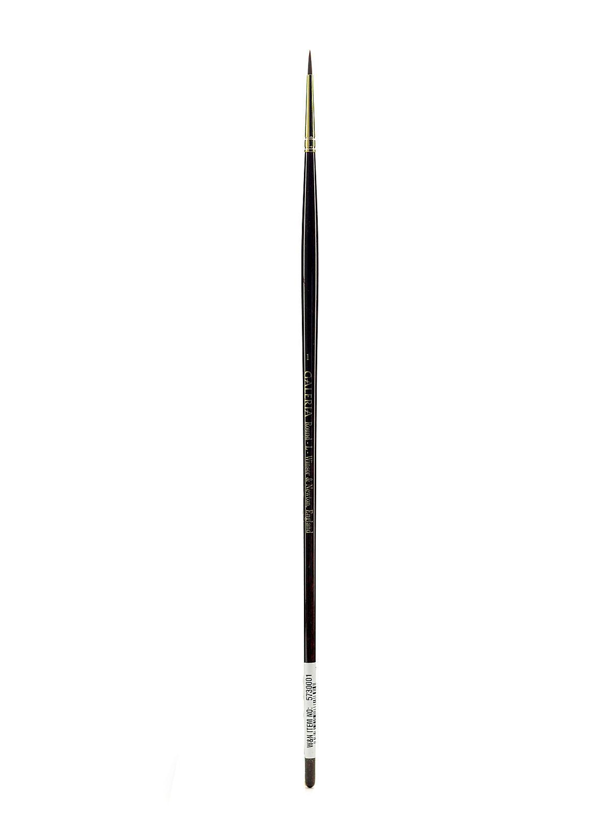 White apron galleria 7 - Galeria Long Handled Brushes 1 Round