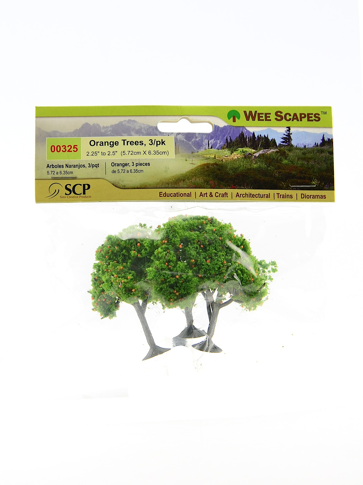 Wee Scapes Architectural Model Trees | MisterArt com