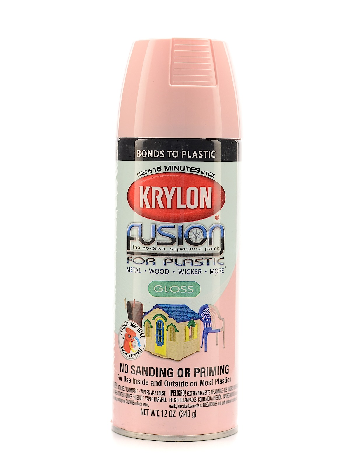 Krylon Fusion Spray Paint For Plastic