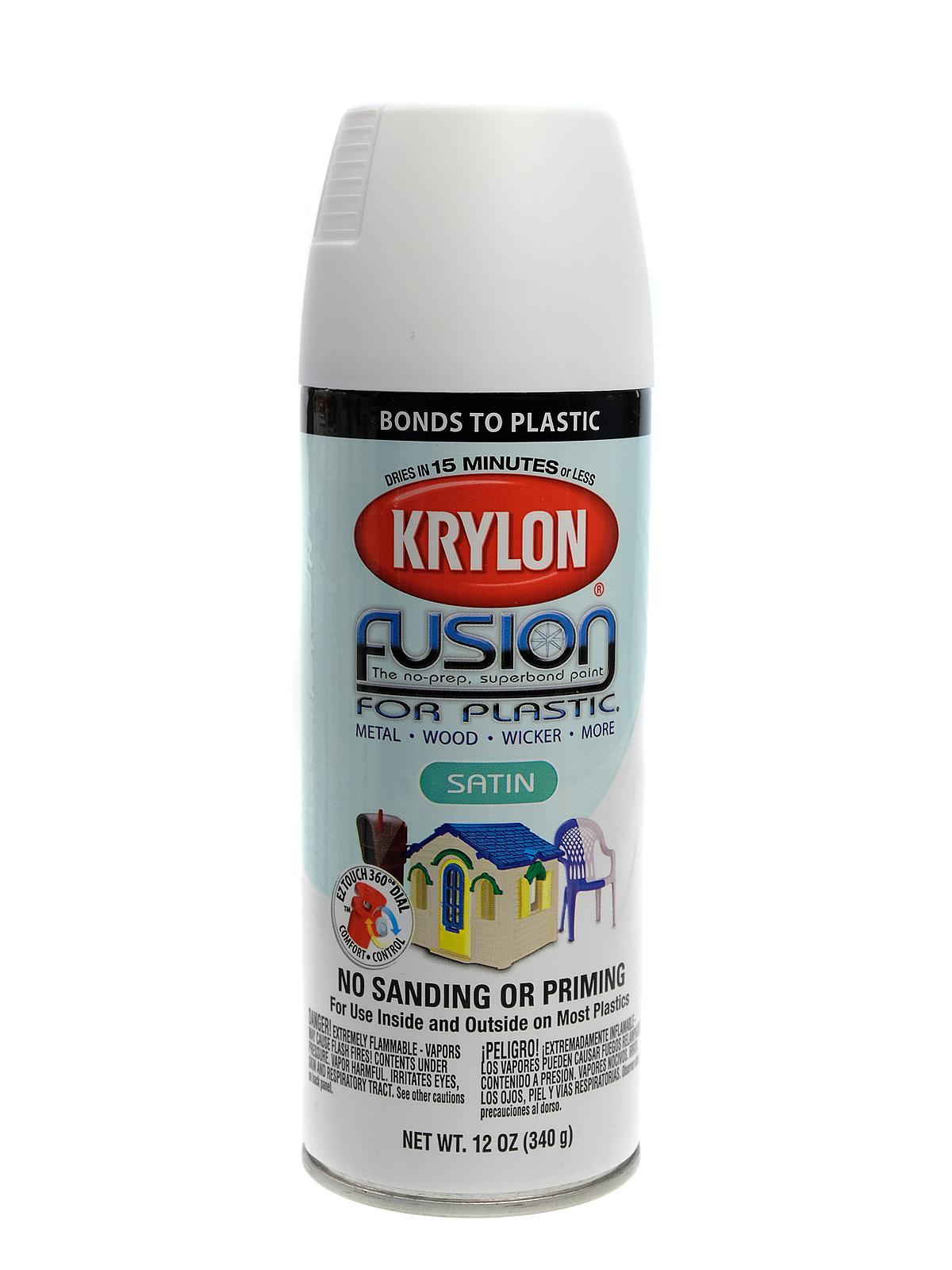 Krylon Fusion Spray Paint For Plastic