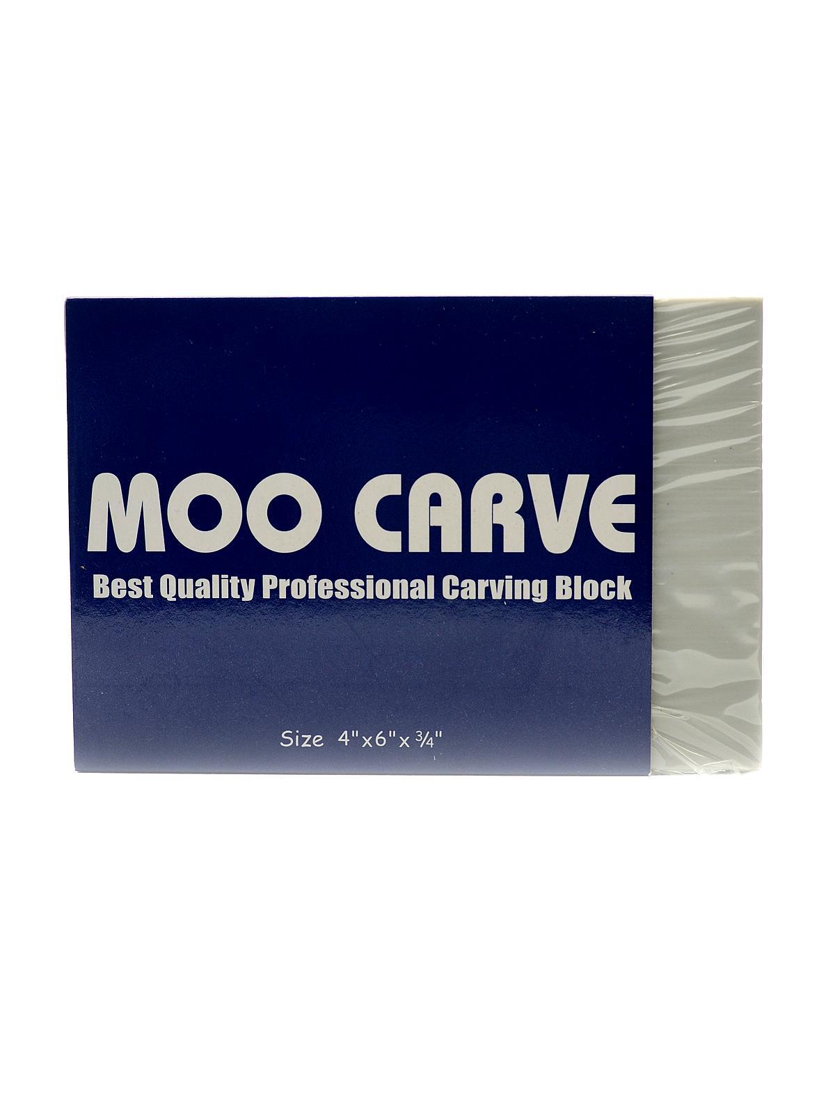 Martin/Universal Moo Carve Artist Carving Block MisterArt.com