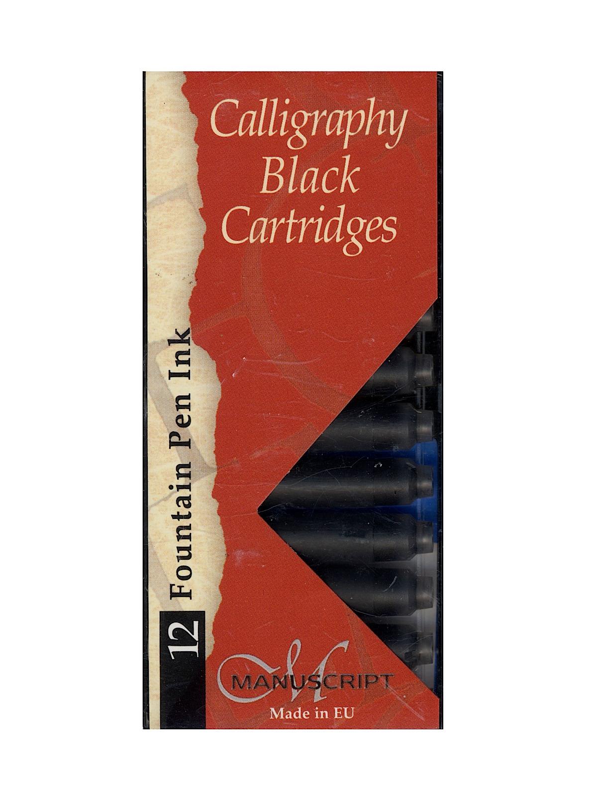 Manuscript Calligraphy Ink Cartridges