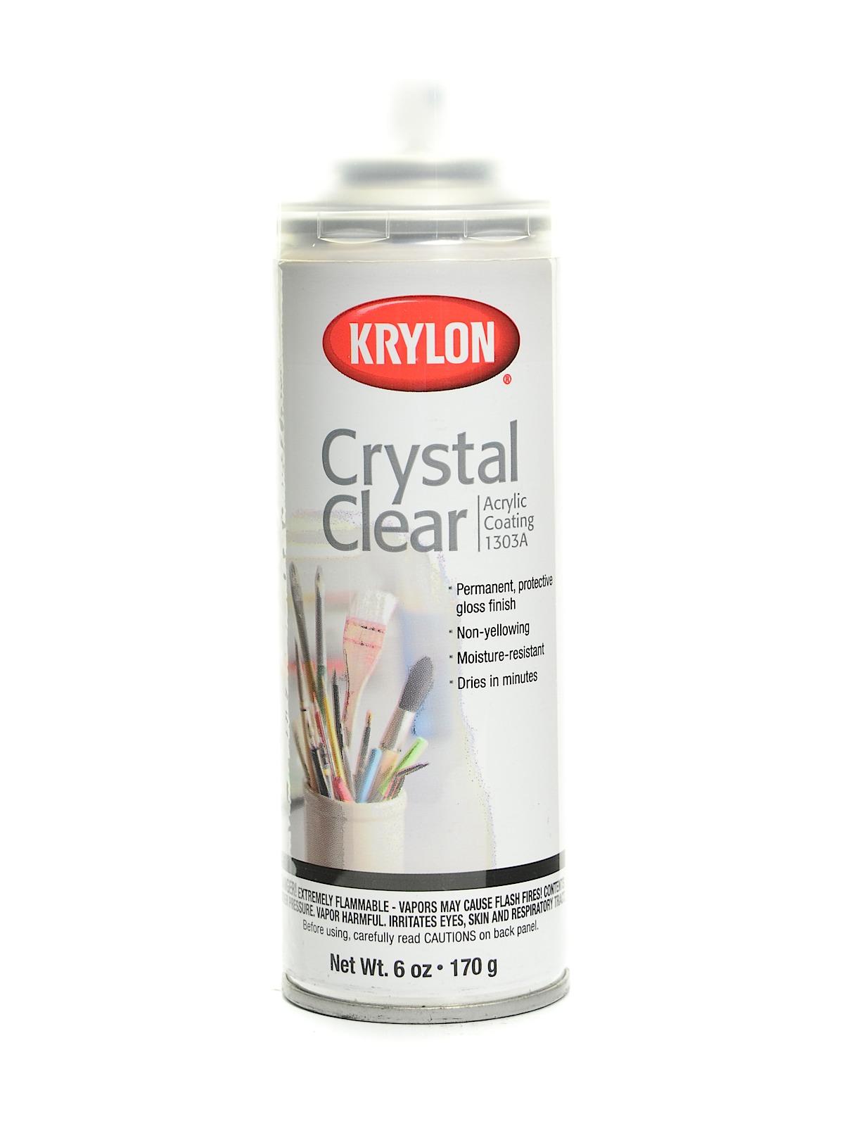 krylon crystal clear. Black Bedroom Furniture Sets. Home Design Ideas