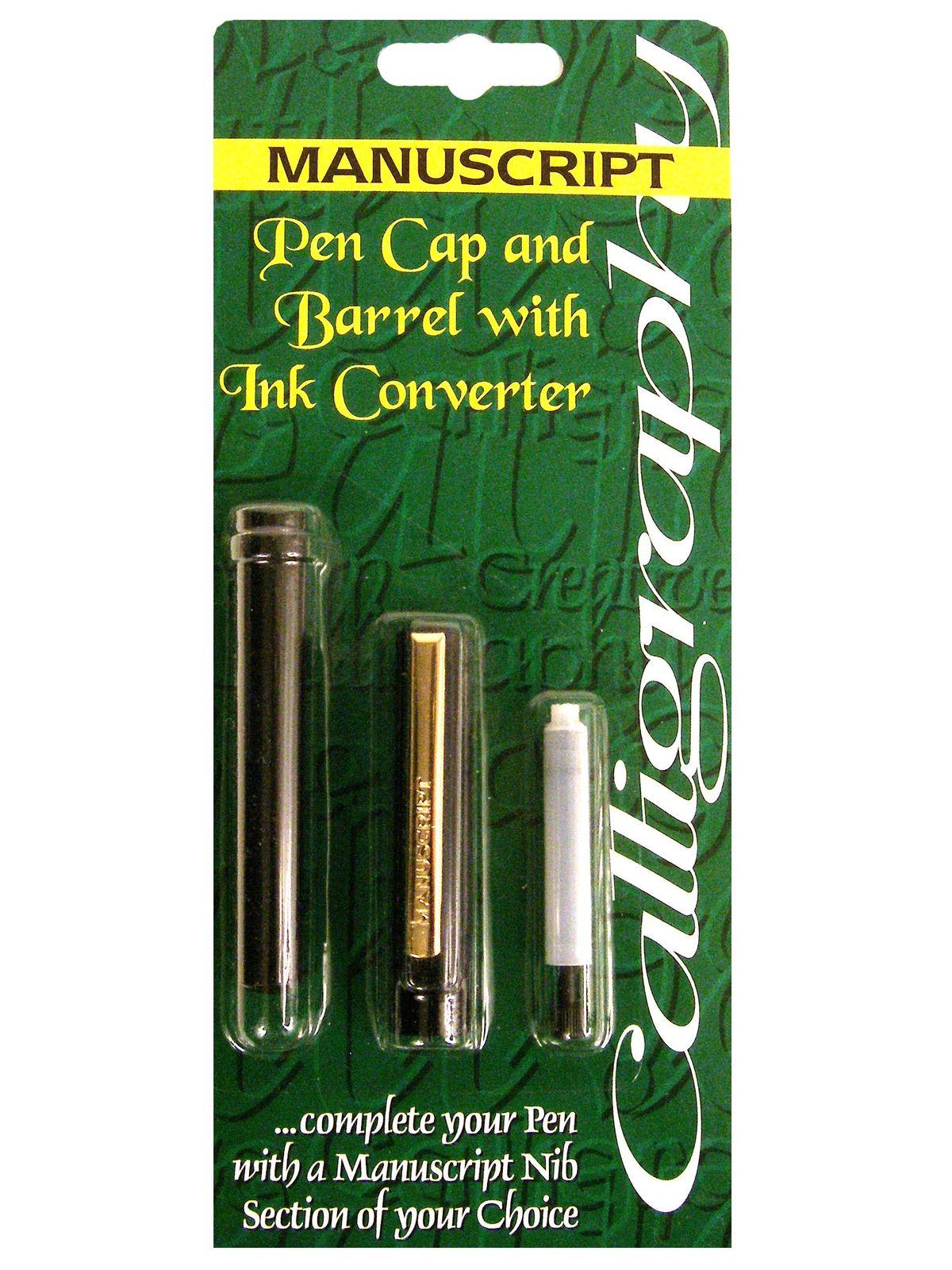 Manuscript Standard Calligraphy Pen Cap And Barrel With