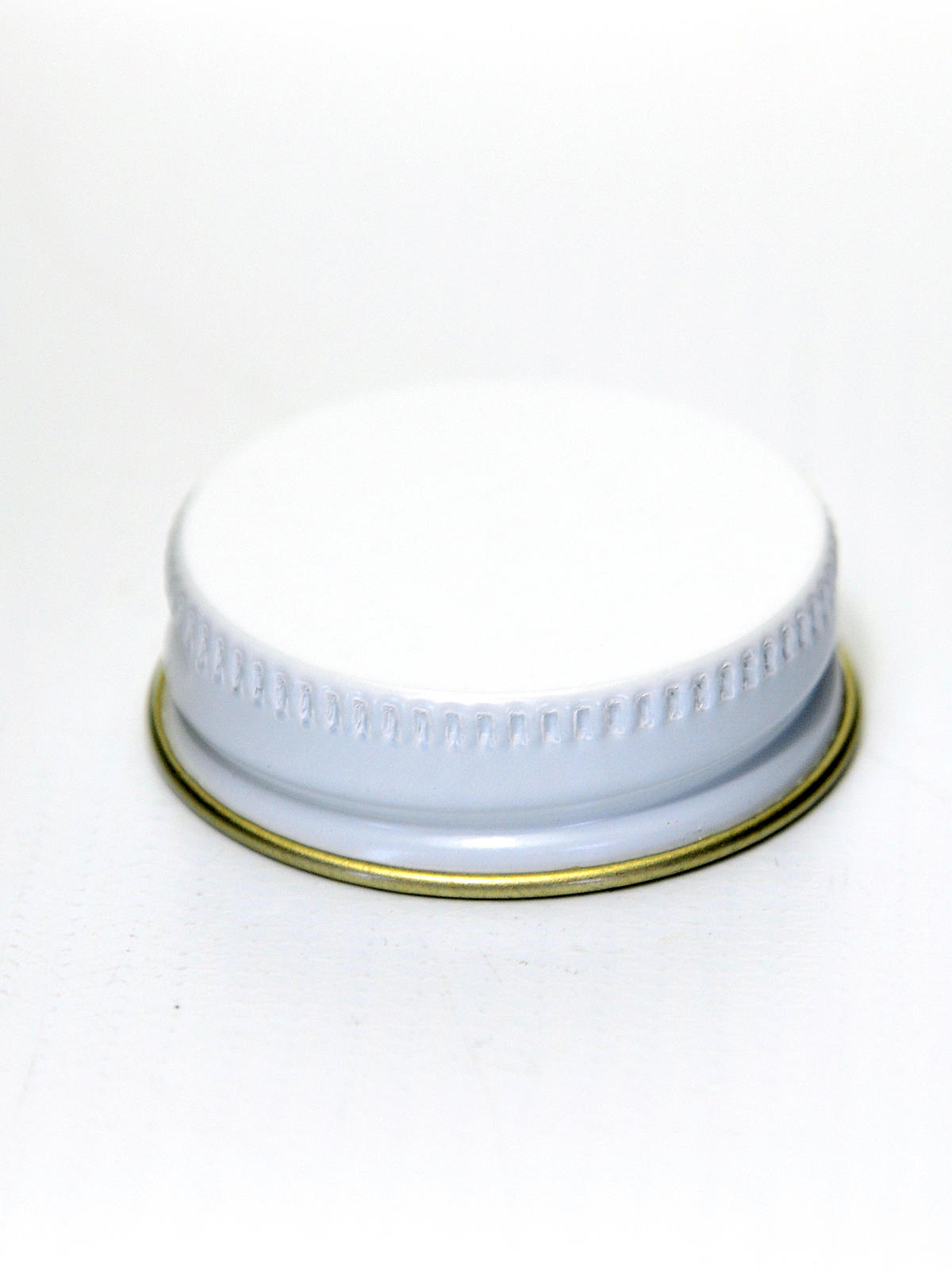 White Lid Only Fits 1 oz. Jar