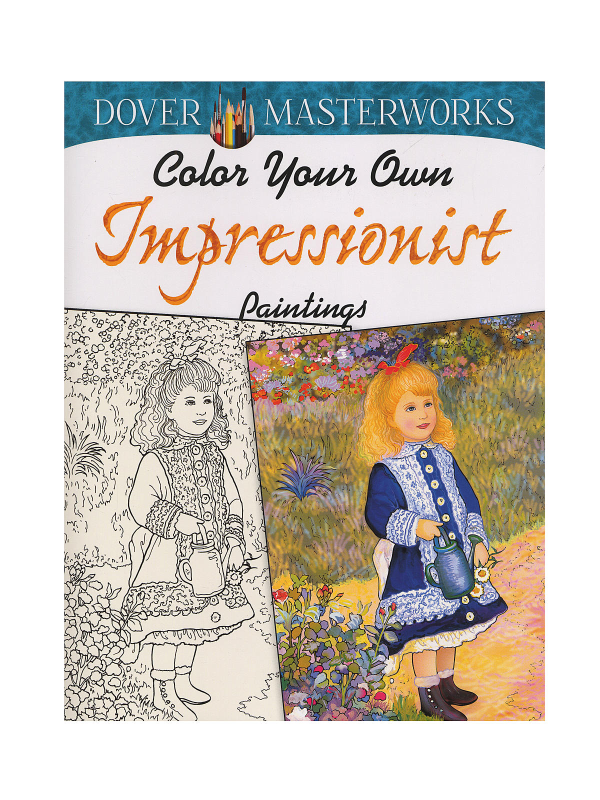 Masterworks Color Your Own Coloring Book Impressionist Paintings