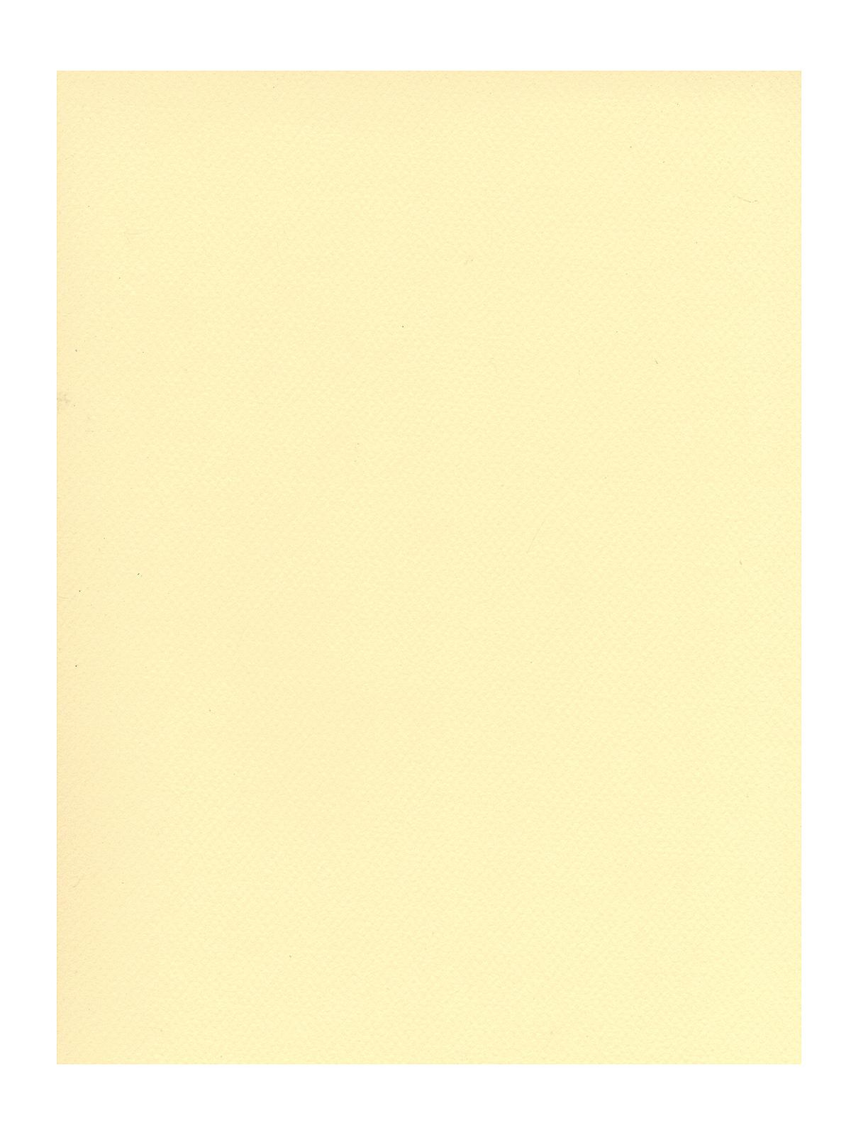 Mi-teintes Tinted Paper Pale Yellow 19 In. X 25 In.