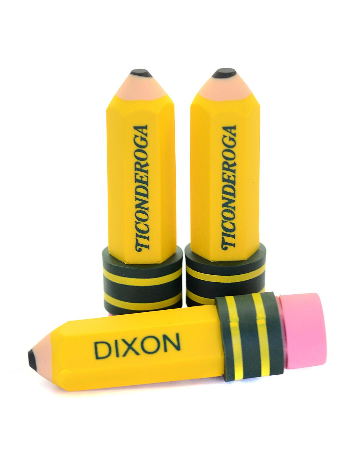 Dixon Ticonderoga Pencil Shaped Eraser Misterart Com