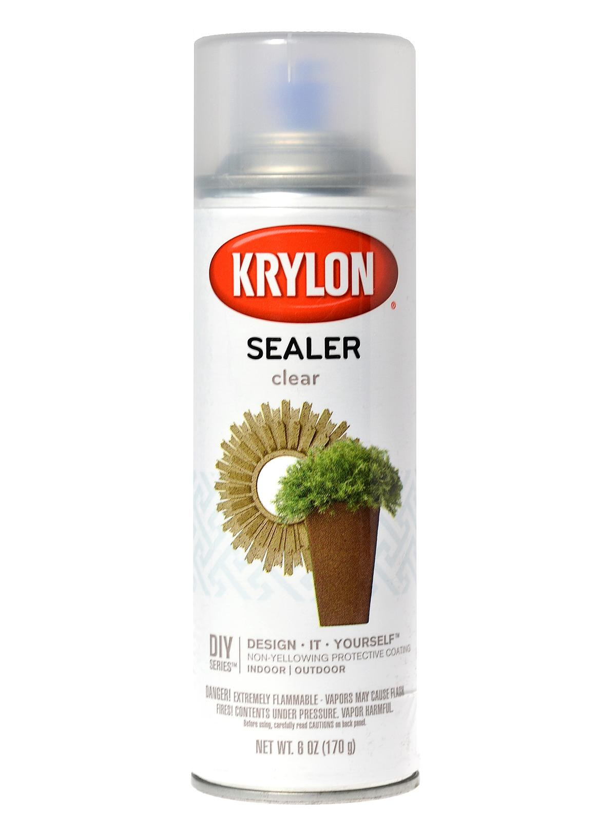 I'm looking for a clear brush on sealant?