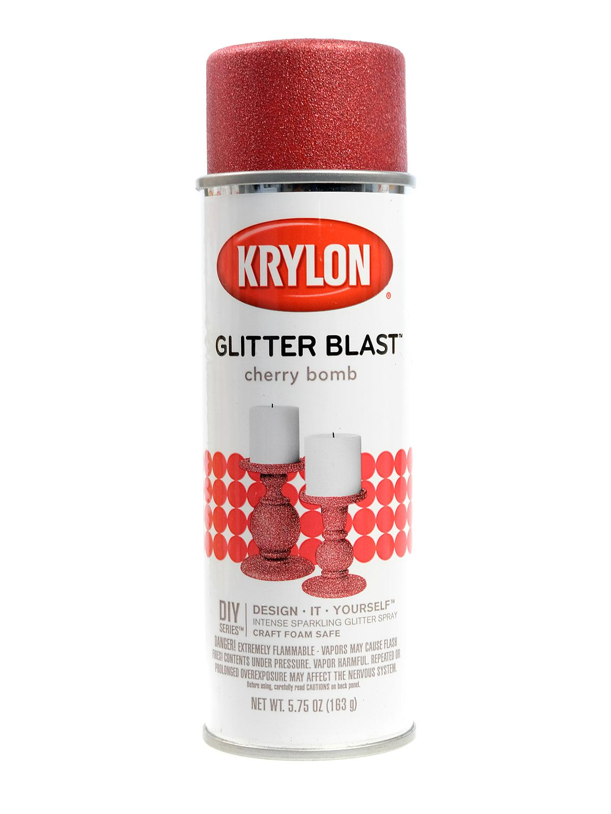 Krylon Glitter Blast Spray Paints | MisterArt com