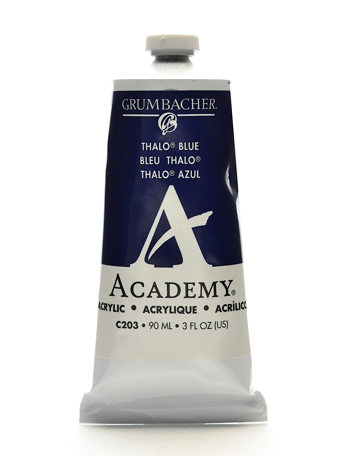 Academy Acrylic Colors thalo blue 3 oz. (90 ml)