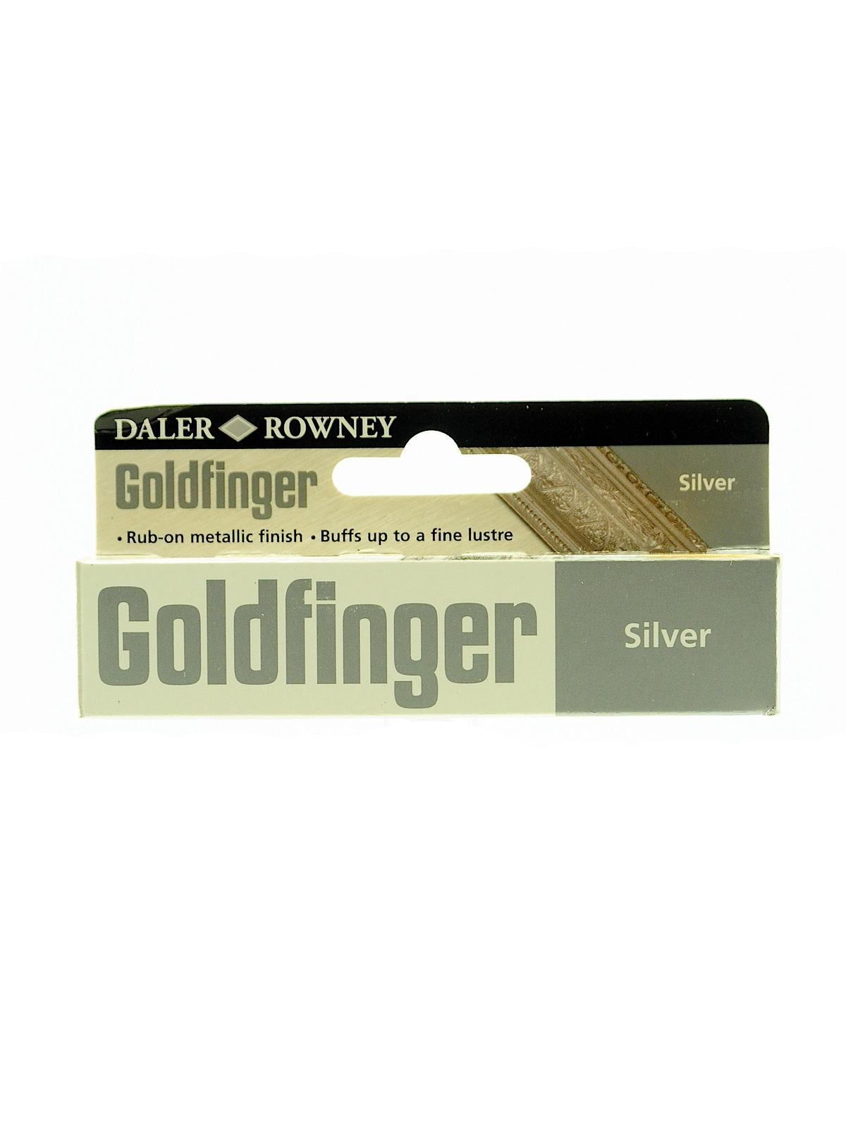 87207 goldfinger decorative metallic paste imitation silver 22 ml