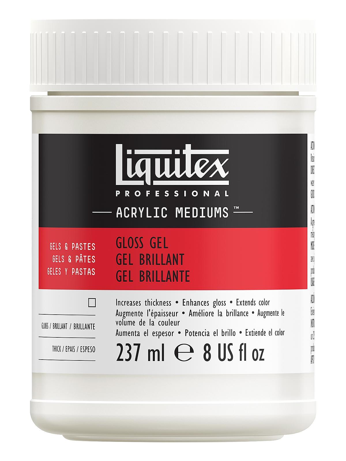 Liquitex acrylic gloss gel medium for Gloss medium for acrylic painting