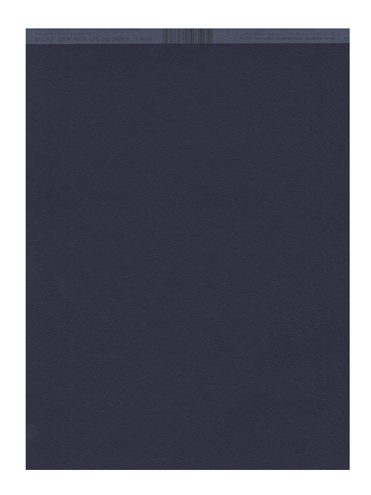 Classic Cardstock 8 1 2 In. X 11 In. Stormy Dark Sheet