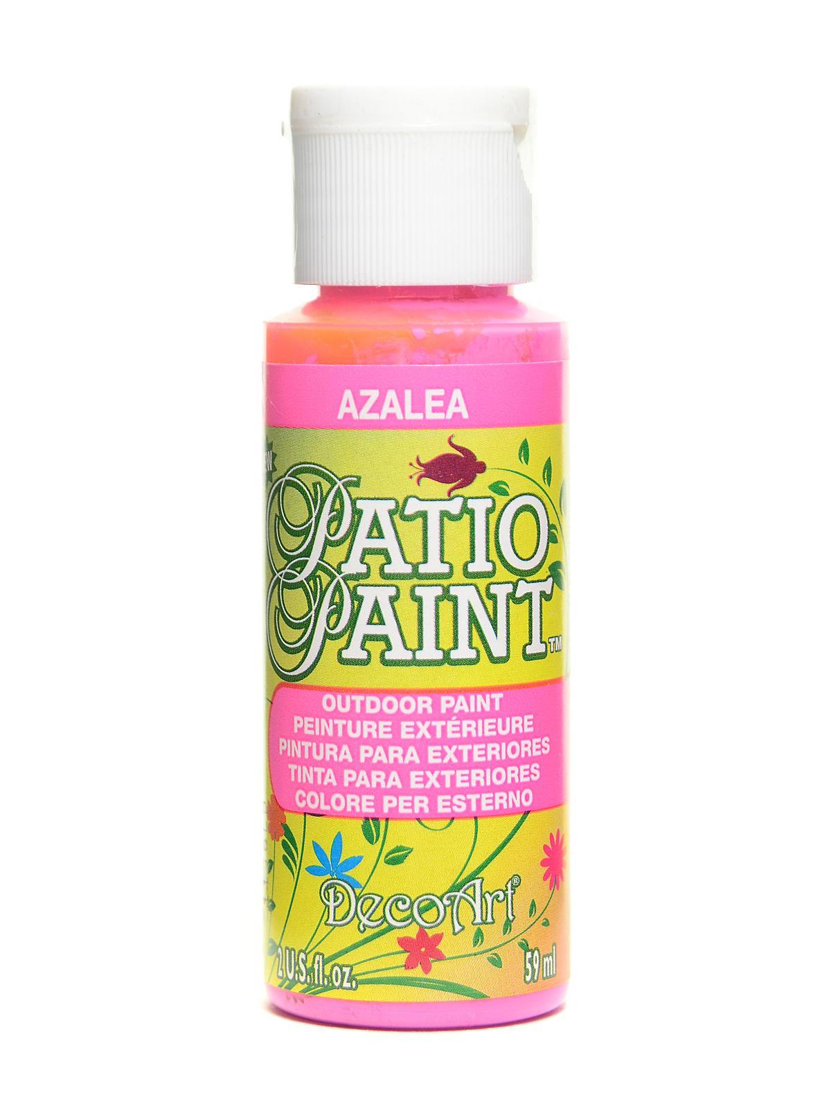 Patio Paint azalea 2 oz. - DecoArt Patio Paint MisterArt.com