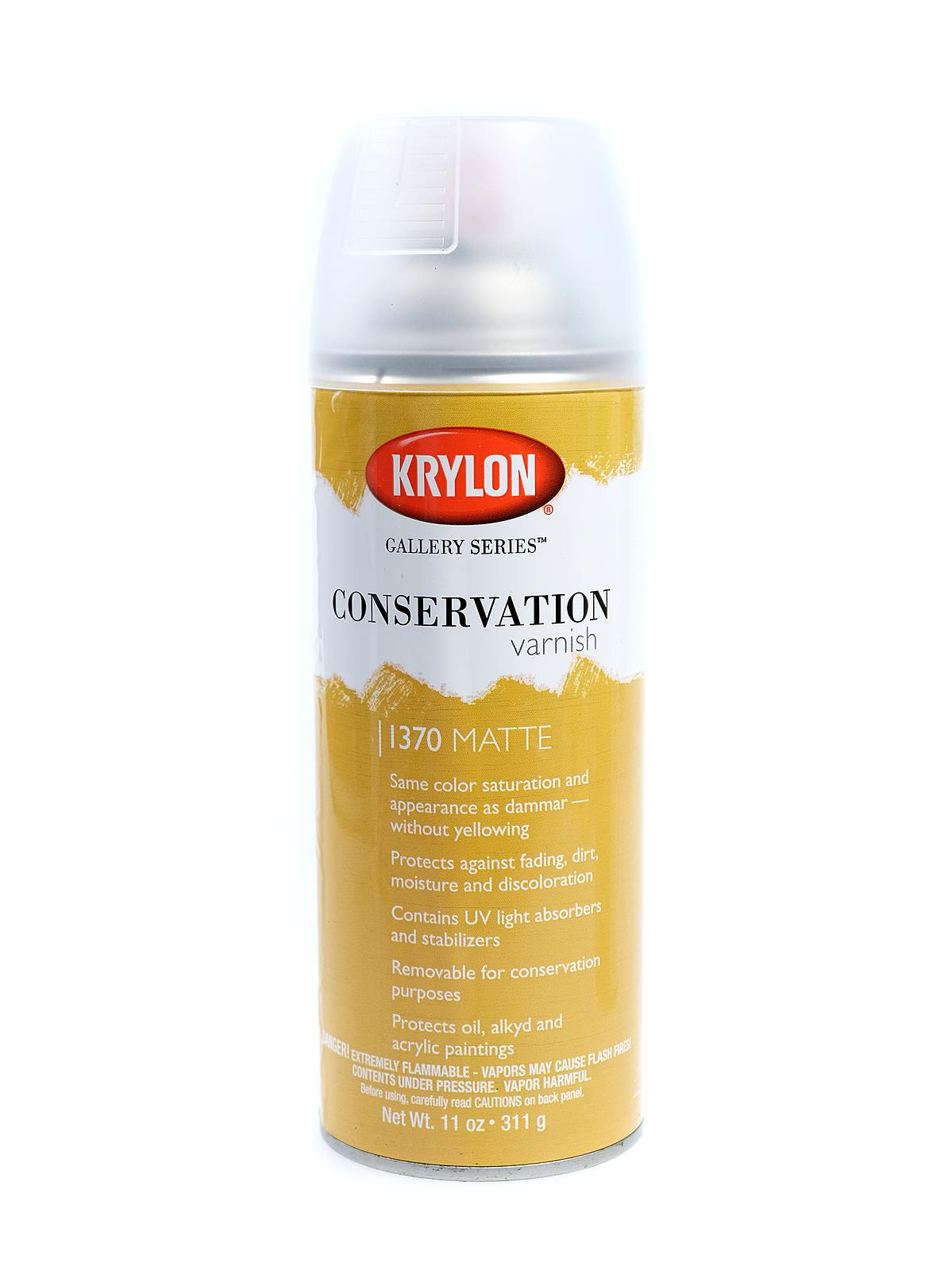 Krylon Conservation Varnish | MisterArt com
