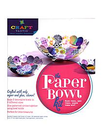 Craft-tastic Paper Bowl Kit