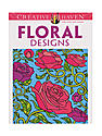 Creative Haven Coloring Books Floral Designs