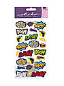 Classic Stickers punch captions 24 pieces
