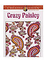 Creative Haven Coloring Books Crazy Paisley