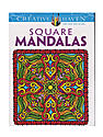 Creative Haven Coloring Books Square Mandalas