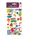 Classic Stickers ice cream truck 25 pieces
