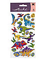 Classic Stickers dinosaur metallic 20 pieces