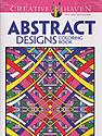 Creative Haven Coloring Books Abstract Designs