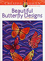 Creative Haven Coloring Books Beautiful Butterfly Designs