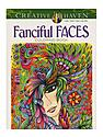 Creative Haven Coloring Books Fanciful Faces