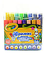 Pip-Squeaks Washable Wacky Tips Markers pack of 16