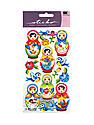 Classic Stickers babushka babies 16 pieces