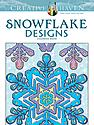 Creative Haven Coloring Books Snowflake Designs
