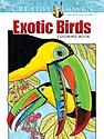 Creative Haven Coloring Books exotic birds