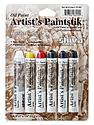 Artist's Paintstik Oil Color Sets basic colors set set of 6
