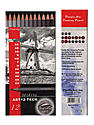 Graphite Drawing Pencil Sets technical set of 12