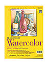 300 Series Watercolor Paper 9 in. x 12 in. pad of 12 tape bound