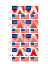 Classic Stickers flags 20 pieces