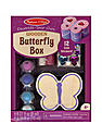 Decorate Your Own Kits wood butterfly box
