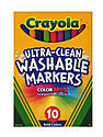 Bold Colors Ultra-Clean Washable Markers fine box of 10