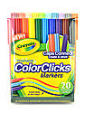 Color Clicks Washable Markers set of 20
