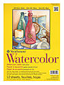 300 Series Watercolor Paper 9 in. x 12 in. pad of 12 wire bound