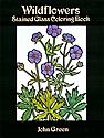 Creative Haven Coloring Books Wildflowers Stained Glass